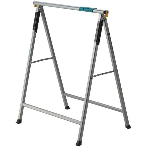 Caballete de apoyo metálico Workstand, hasta 100 kg de carga. - Wolfcraft - 6905000