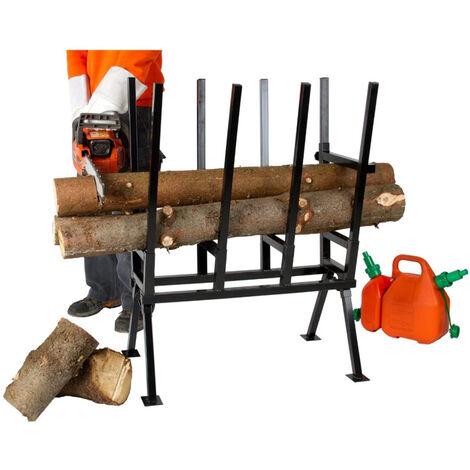Caballete para corte de madera, soporte telescópico plegable, como andamios, embarcadero, banco de trabajo y soporte para cortadora de vigas