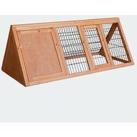 Cabane clapier à lapins rongeurs poulailler lapinière ou autres petits animaux en bois 1180 x 500 x 450 mm