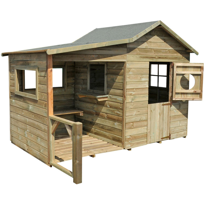 cabane enfant hacienda en bois 2354