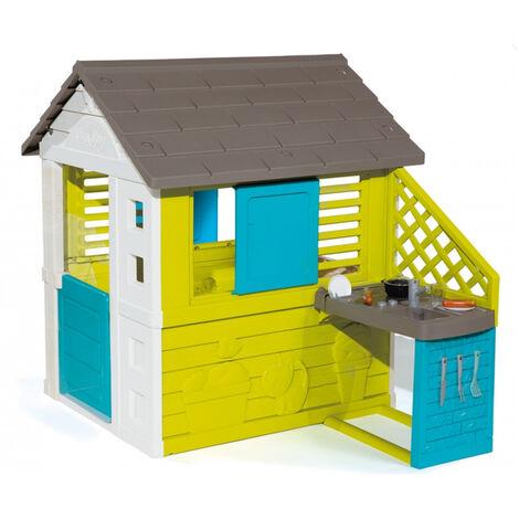 Cabane enfant Pretty + Cuisine d'été Smoby
