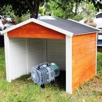 Cabane ou abri pour aérateur de bassin. 87 X 80 cm
