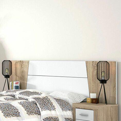 Cabecero de cama Siena 260 cm | Color: CAMBRIAN - BLANCO - CAMBRIAN - BLANCO