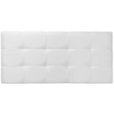 Cabecero de cama Tapizado acolchado de dormitorio con capitoné modelo Tablet