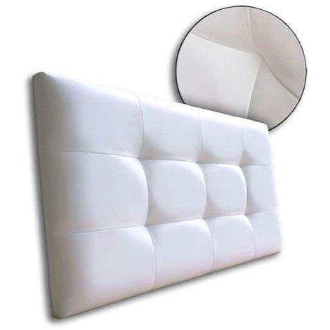 "main image of ""Cabecero de cama Tapizado acolchado de dormitorio con capitoné modelo Tablet"""