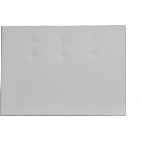 Cabecero De Cama Tapizado MAYA 160x115 Blanco