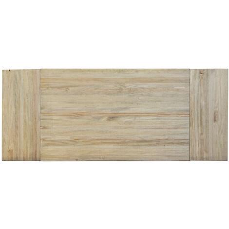 Cabecero Matrimonio 150x60cm 3P madera acabado vintage - 150X60 cm - 18 mm - Efecto Vintage