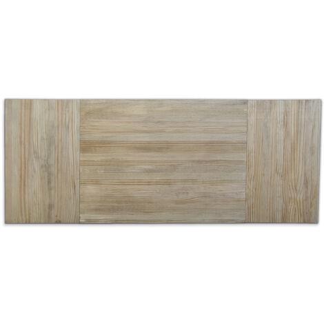 Cabecero Matrimonio 150x60cm 3PP madera acabado vintage - X150X60 cm - 18 mm - Efecto Vintage
