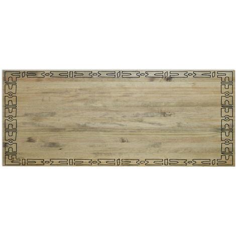 Cabecero Matrimonio 150x60cm Decorativo en madera acabado vintage - 150X60 cm - 18 mm - Efecto Vintage