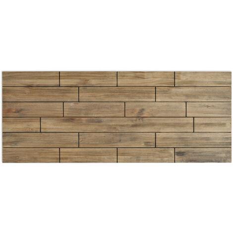 Cabecero Matrimonio 150x60cm Tablas de madera acabado vintage - 150X60 cm - 18 mm - Efecto Vintage