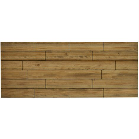 Cabecero Matrimonio 150x60cm Tableros Desajustados en madera acabado vintage - 150X60 cm - 18 mm - Efecto Vintage