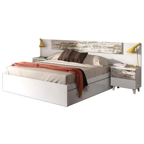 Cabecero + mesitas vintage de dormitorio