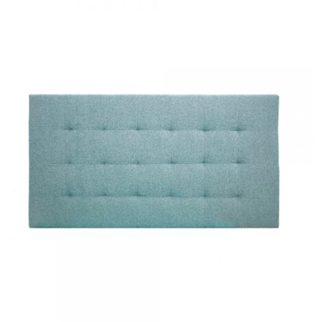 Cabecero Poliéster pliegues azul 160x80cm