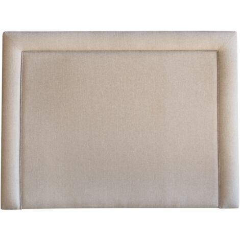 Cabecero tapizado AUSTRIA 145x120 polipiel blanco (00)