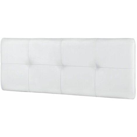 Cabecero Tapizado DEVA Colgante | Tapizado: PU Blanco - Medida: 115 cm. - PU Blanco