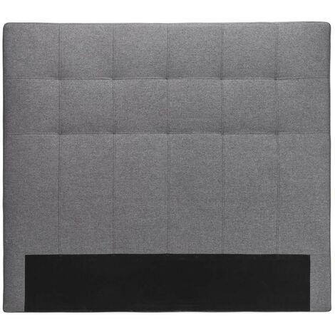 Cabecero tapizado polipiel California   Tapizado: Tela Gris - Tela Gris