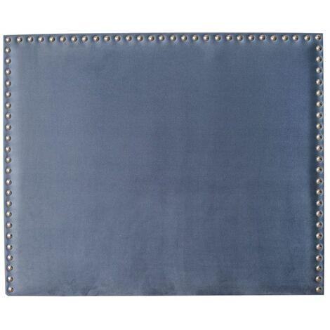 Cabecero tapizado PORTUGAL 180x120 polipiel azul (20)