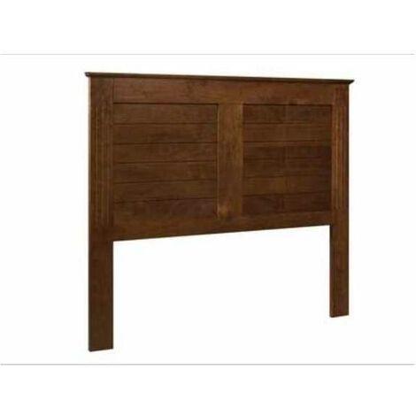 Cabecero Vigo en acabado madera maciza 130 cm(alto)155 cm(ancho) Color Avellana