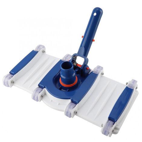 Cabezal de aspiradora de piscina, accesorio de aspiradora de spa, con base ponderada y ruedas