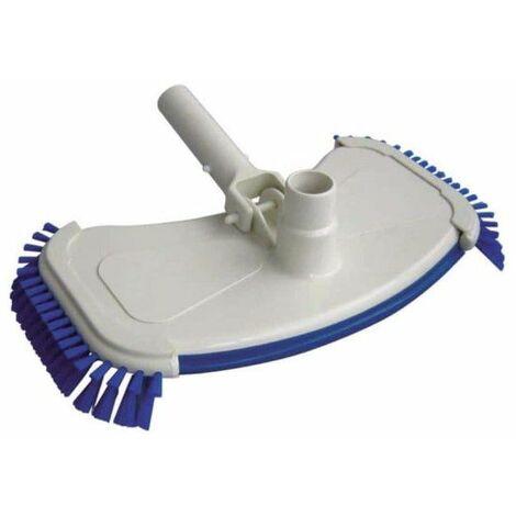 Cabezal de cepillo ovalado con cepillo para la limpieza de la piscina