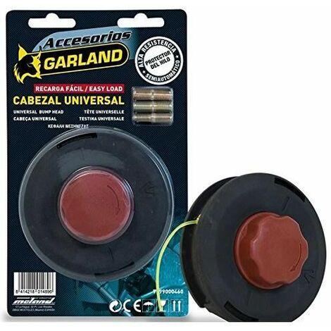Cabezal de desbrozadora Universal carga fácil Garland
