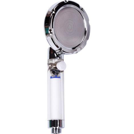 Cabezal de ducha con filtro de mano, revestimiento transparente(no se puede enviar a Baleares)