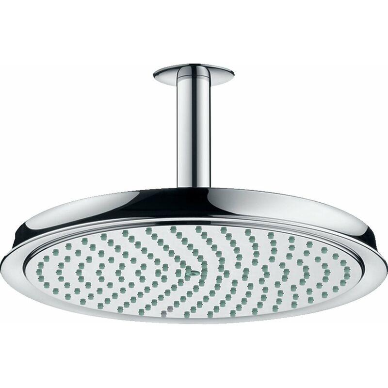 Cabezal de ducha Raindance Classic 240 1jet con conexión al techo, color: cromado - 27405000 - Hansgrohe