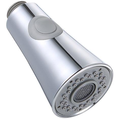Cabezal de grifo del fregadero de cocina, conexiones G1 / 2, cromo pulido