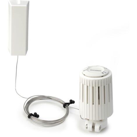 Cabezal termostático con sensor de líquido a distancia. Regulación a distancia Giacomini R463X