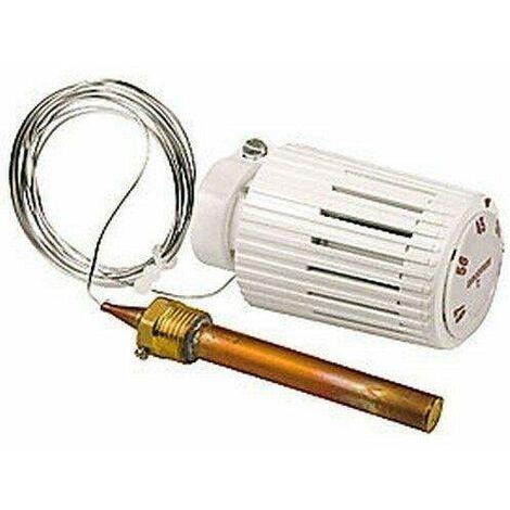 Cabezal termostático limitador de temperatura con sensor de líquido a distancia Giacomini R462LX   R462LX021