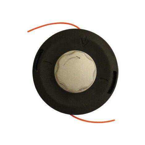 Cabezal Universal Carga Fácil Aluminio Para Desbrozadoras - Kawapower
