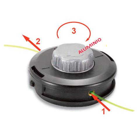 Cabezal universal carga rapida reforzado TAP N GO 130cm + 2 adaptadores