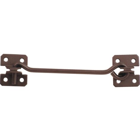 Cabin Hooks on Plates - Black or Galvanised Finish