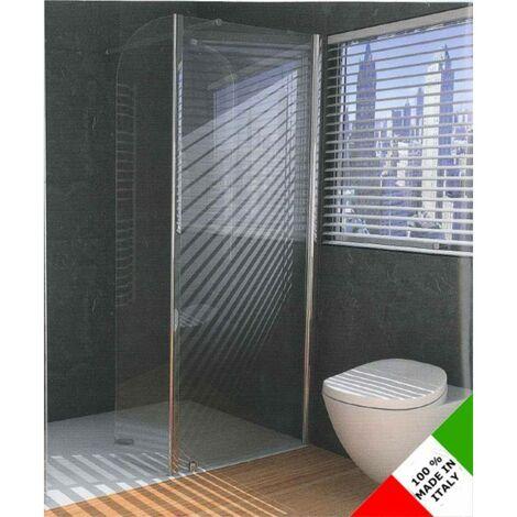 Box Doccia Con Ante Battenti.Cabina Box Doccia Con Anta Fissa E Battente Ferbox Panorama Pa3