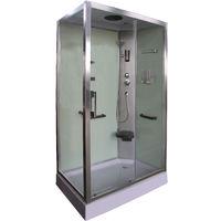 Cabina de ducha SIN SAUNA con puerta reversible DP-8001
