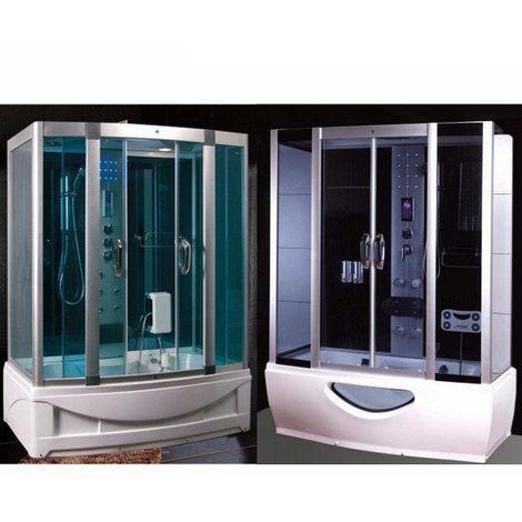 Cabina Box Doccia Con Vasca Idromassaggio E Sauna 135x85.Cabina Idromassaggio Con Vasca 167x85cm Full Optional