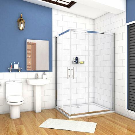 Cabine de douche 120x80cm avec un receveur plusieurs modéles