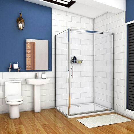 Cabine de douche 140x70cm avec un receveur plusieurs modèles