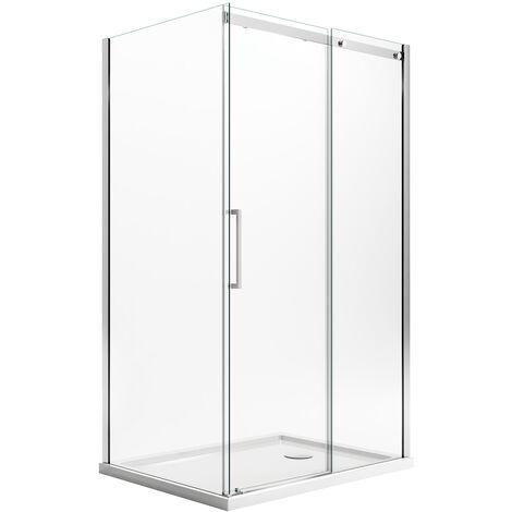 cabine de douche 70x100 cm h200 transparent ouverture vers. Black Bedroom Furniture Sets. Home Design Ideas