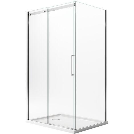 Cabine de douche avec Easy-Clean mod. Prime Duo 1 Porte
