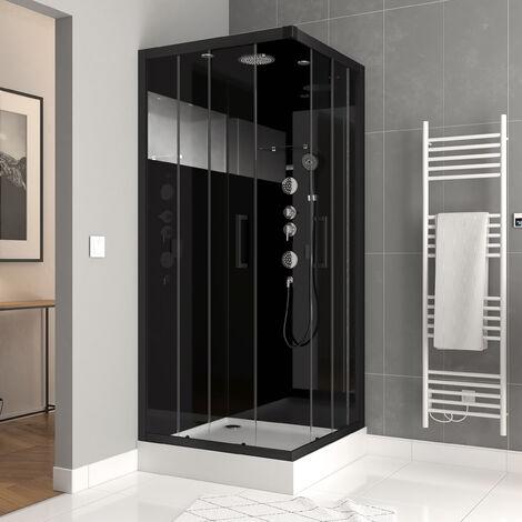 Cabine de douche carrée 90x90x215cm - MIRROR SPACE SQUARE