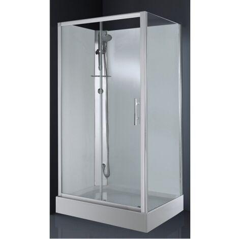 Cabine de douche CARAT 120x80 cm Thermostatique