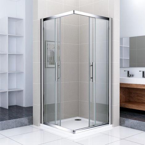 Cabine de douche carrée 70x70cm avec un receveur plusieurs modèles