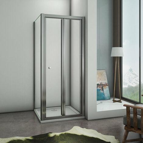 Cabine de douche carrée 90x90cm avec un receveur plusieurs modèles