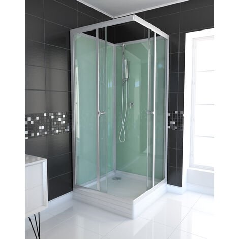 Cabine de douche carrée 90x90x210cm - WATER GREEN SQUARE 90