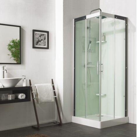 Cabine de douche carrée FLOTILLE 3 - 80x80cm
