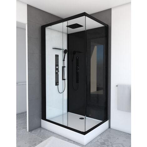 Cabine de douche DUALITY RECTANGLE rectangle 110x80x215cm
