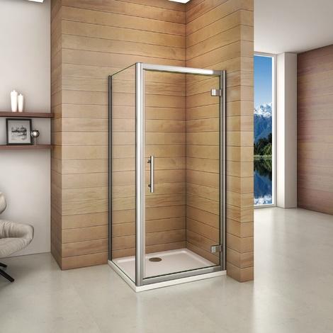 Cabine de douche en 187cm et les diff�rents largeur de la porte et douche