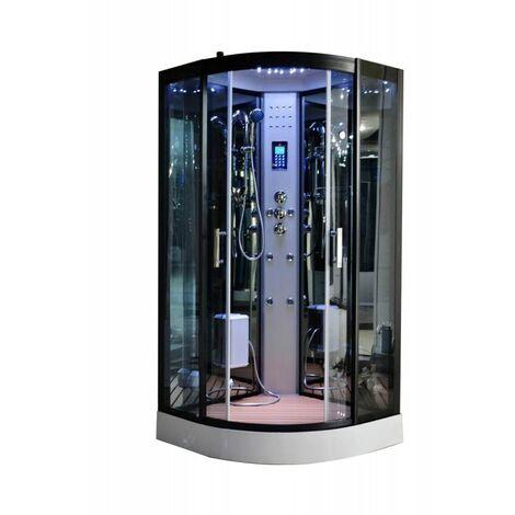 Cabine de douche Hammam 90 x 90 x 215 cm full options
