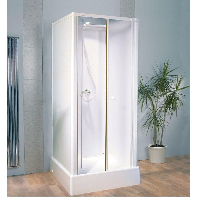 old cabine de douche pour petits espaces 80x80 delta ca13. Black Bedroom Furniture Sets. Home Design Ideas